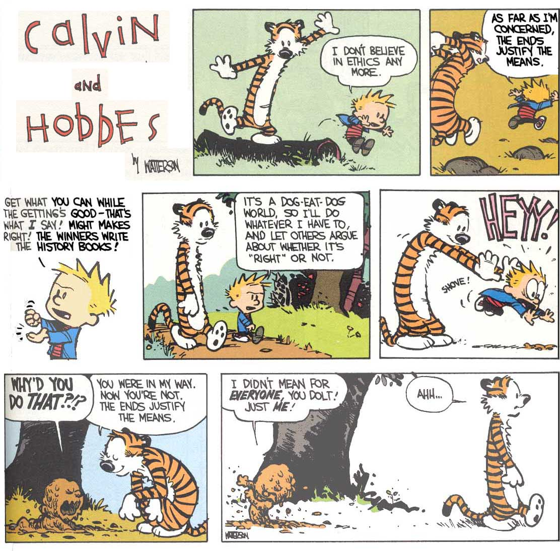 phil social ethics lawrence m hinman ph d calvin hobbes and kant